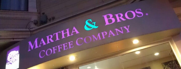 Martha & Bros. Coffee is one of My San Francisco.
