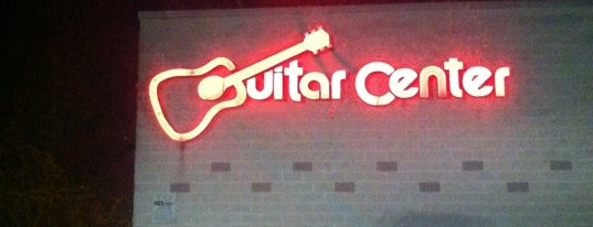 Guitar Center is one of frequented.