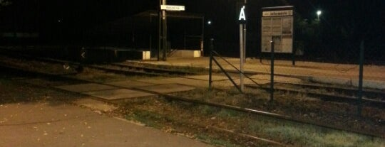 Ráckeve (H6) is one of Hév megállók.
