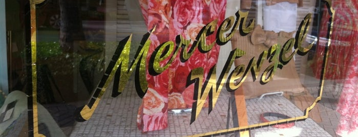 Mercer Wenzel is one of Local Treasures.