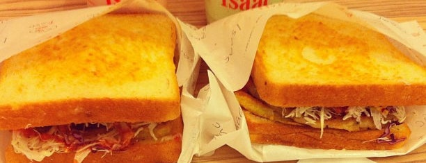 Isaac Toast & Coffee is one of Café | Penang.