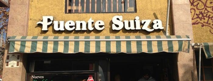 Fuente Suiza is one of Santiago.