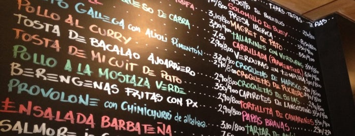 Dúo Tapas / Vinos Contra Tapas is one of Restaurantes.