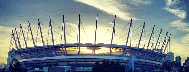 BC Place is one of Vancouver.