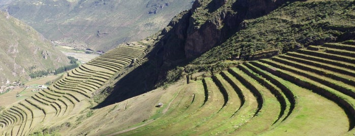 Pisac Ruins is one of south american spots.