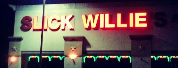 Slick Willie's is one of Frequent.