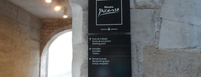 Museu Picasso is one of Barcelona.