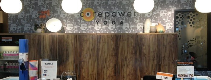 CorePower Yoga is one of Hyde Park.