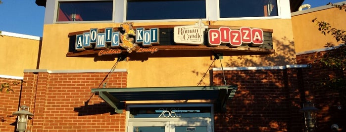 The Roman Candle Pizzeria is one of places.