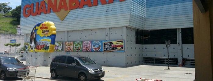 Supermercados Guanabara is one of Comidas.