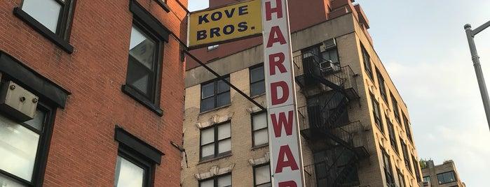 Kove Bro. True Value Hardware is one of Fixer Upper (NY).