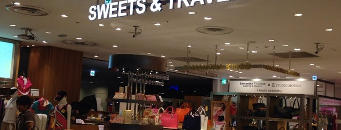 Samantha Thavasa Sweets & Travel is one of The 15 Best Accessories Stores in Tokyo.