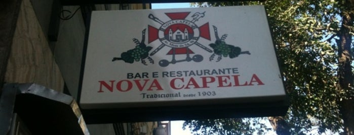 Nova Capela is one of RIO - Restaurantes.