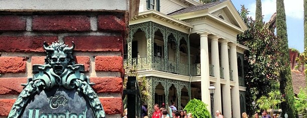 Haunted Mansion is one of Disneyland Fun!!!.