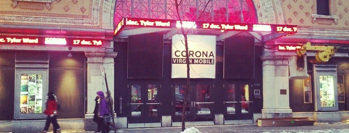 Théâtre Corona is one of Montreal City Guide.