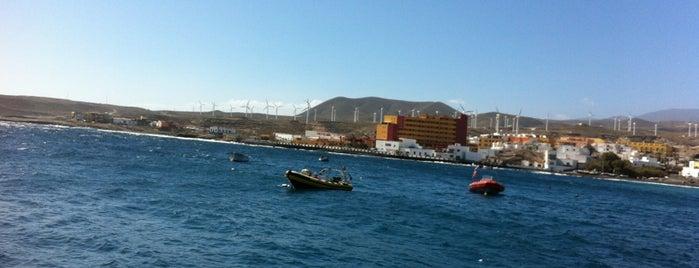 Muelle Poris De Abona is one of Islas Canarias: Tenerife.