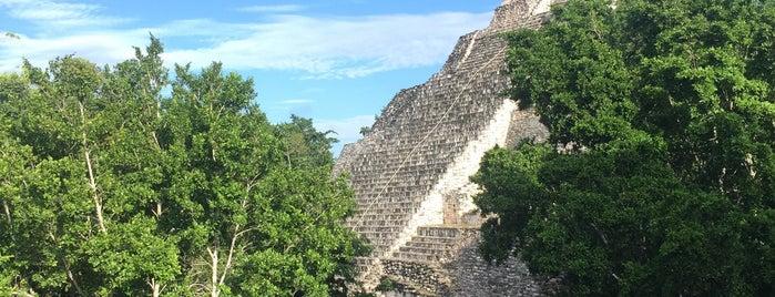 Zona Arqueológica Becán is one of Mexico // Cancun.