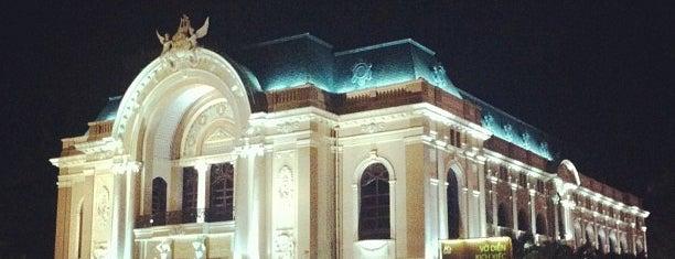 Saigon Opera House is one of Ho Chi Minh.