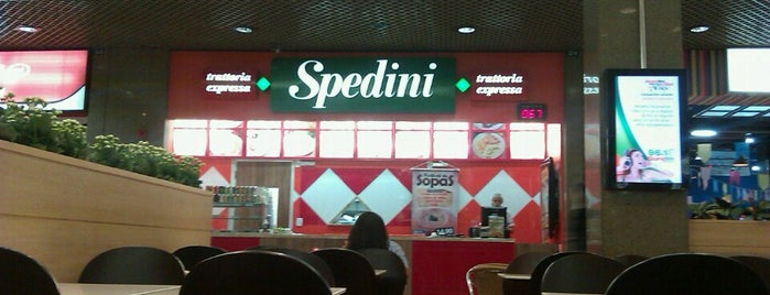 Spedini Trattoria is one of Beiramar Shopping.