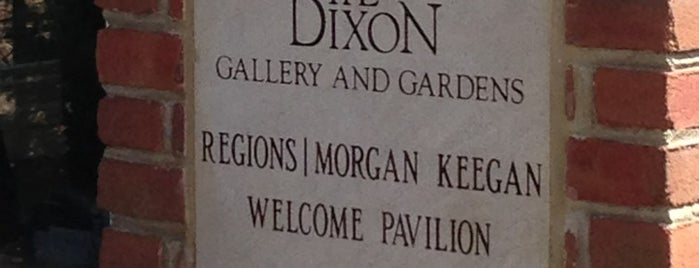 The Dixon Gallery and Gardens is one of Historian.
