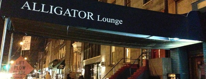 Alligator Lounge is one of Imbibe.