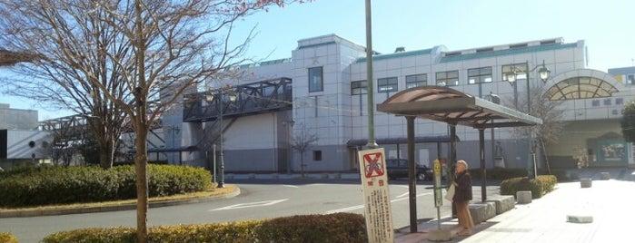 Yūki Station is one of 水戸線.