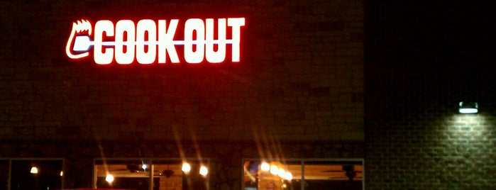 Cook Out is one of Roanoke.