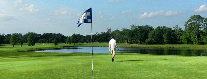 Audubon Park Golf Course is one of NOLA.