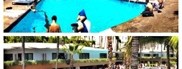 Roosevelt Hotel Pool is one of Best Los Angeles Pool Parties.