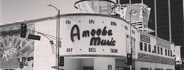Amoeba Music is one of Los Angeles.