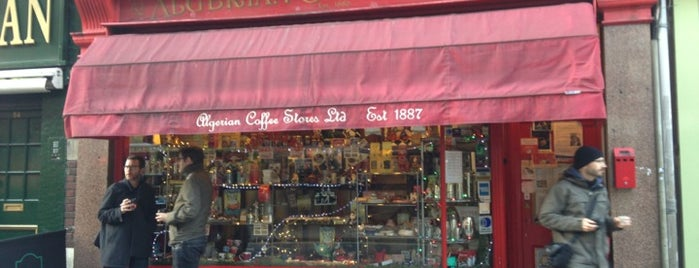 Algerian Coffee Stores is one of London's Best Coffee.