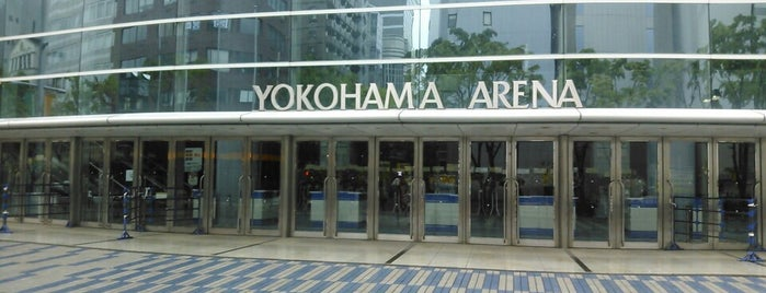 Yokohama Arena is one of ライブ、イベント会場.