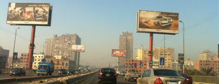 Mounib Bridge is one of فى الطريق ...