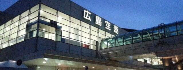 広島空港 (HIJ) is one of World AirPort.