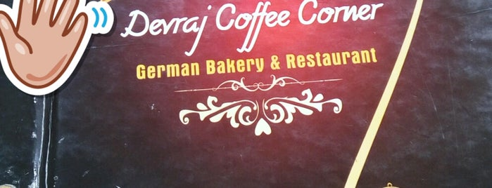 German Bakery is one of India places to visit.