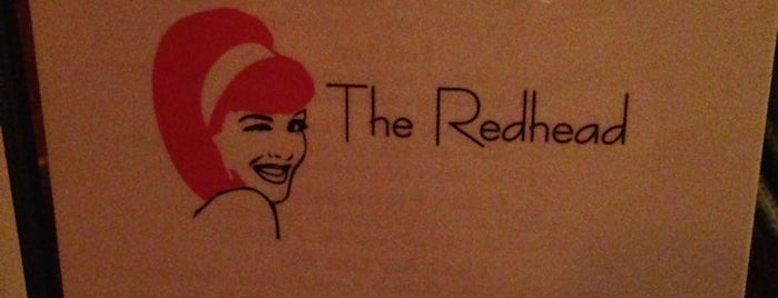 The Red Headed lounge is one of Chicago Bucketlist.