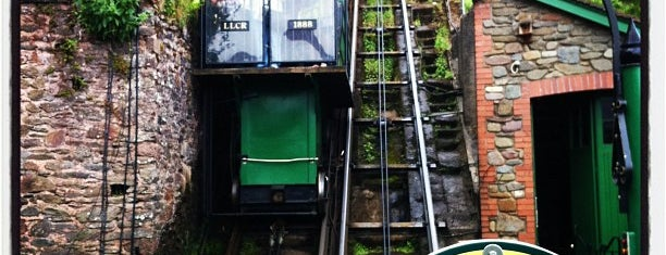 Lynton & Lynmouth Cliff Railway is one of England 1991.