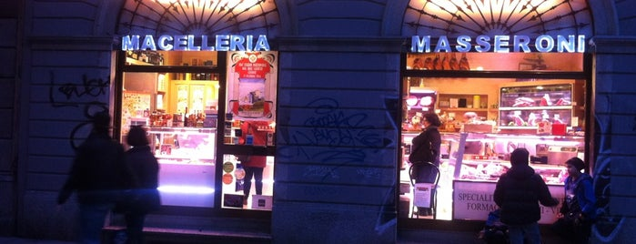 Macelleria Masseroni is one of Milano food.