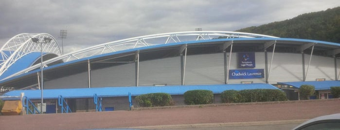 John Smith's Stadium is one of Sky Bet Championship Stadiums 2015/16.