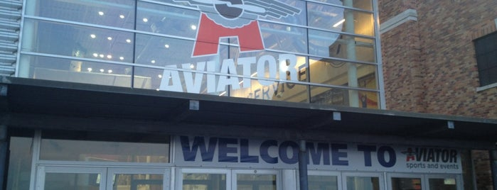 Aviator Sports & Events Center is one of Top Ice Skating Rinks in NYC.