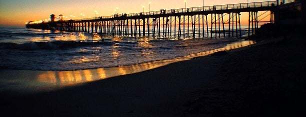 Oceanside Municipal Fishing Pier is one of Favorite Beaches.