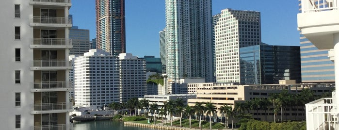 Brickell Key is one of Miami.