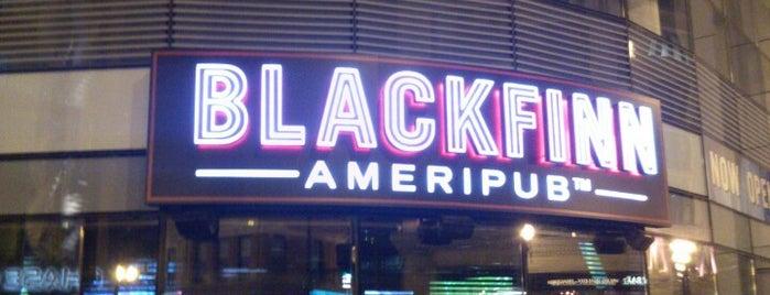 Blackfinn Ameripub is one of 2014 Alumni Challenge Bars.
