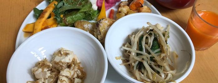 春秋ユラリ is one of 菜食できる食事処 Vegetarian Restaurant.
