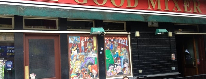 The Good Mixer is one of Camden Town owns.