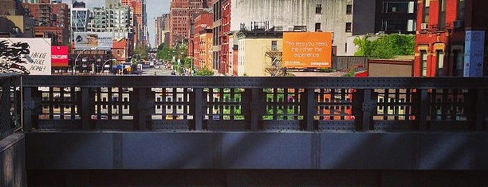 High Line is one of The Tastes that Make the City: New York Edition.