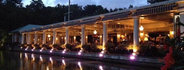 Central Park Boathouse is one of The Tastes that Make the City: New York Edition.