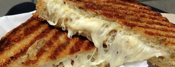 Milk Truck Grilled Cheese is one of The Tastes that Make the City: New York Edition.
