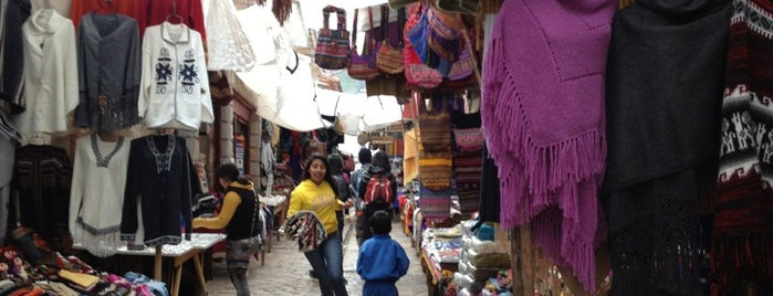 Pisac Market is one of Sacred Valley.