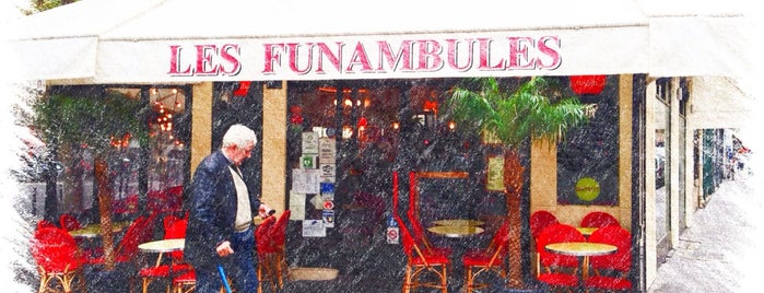 Les Funambules is one of Paris.
